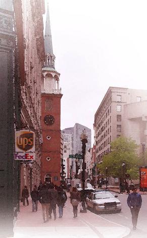 ボストンの街